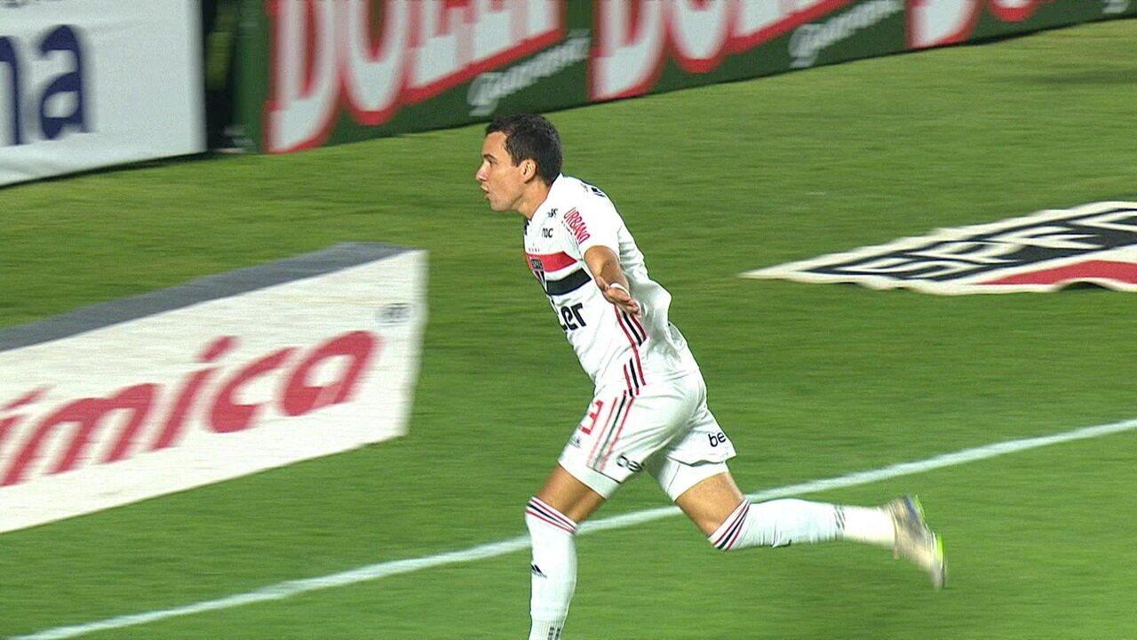 Veja o gol marcado por Pablo contra o Água Santa, na estreia do Paulistão