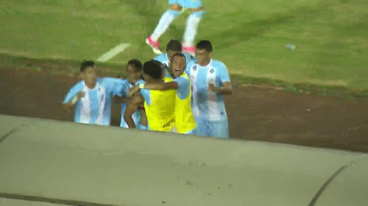 Veja o gol de Londrina 1x0 Cianorte, pela segunda rodada do Campeonato Paranaense