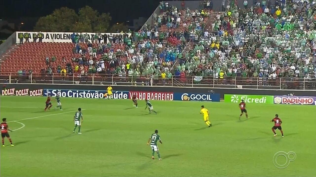 Palmeiras cresce no segundo tempo e goleia o Ituano na estreia no Paulistão