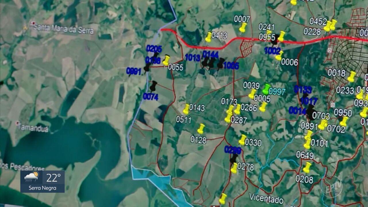 GPS rural ajuda órgãos de segurança a localizar propriedades em áreas de difícil acesso