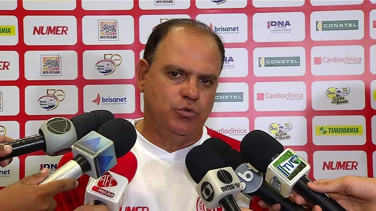 Waguinho Dias comenda derrota do América-RN para o ABC