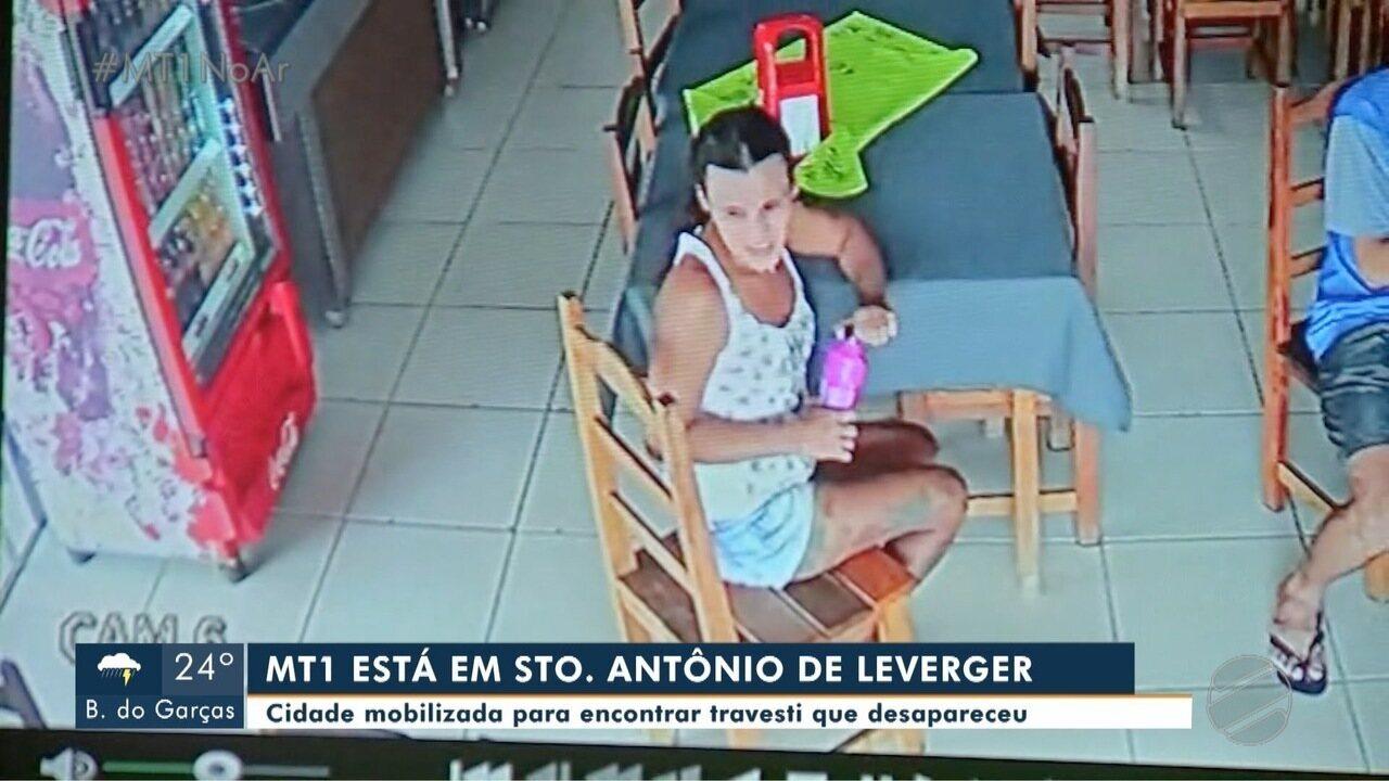 Moradores se mobilizam pra encontrar travesti que está desaparecida