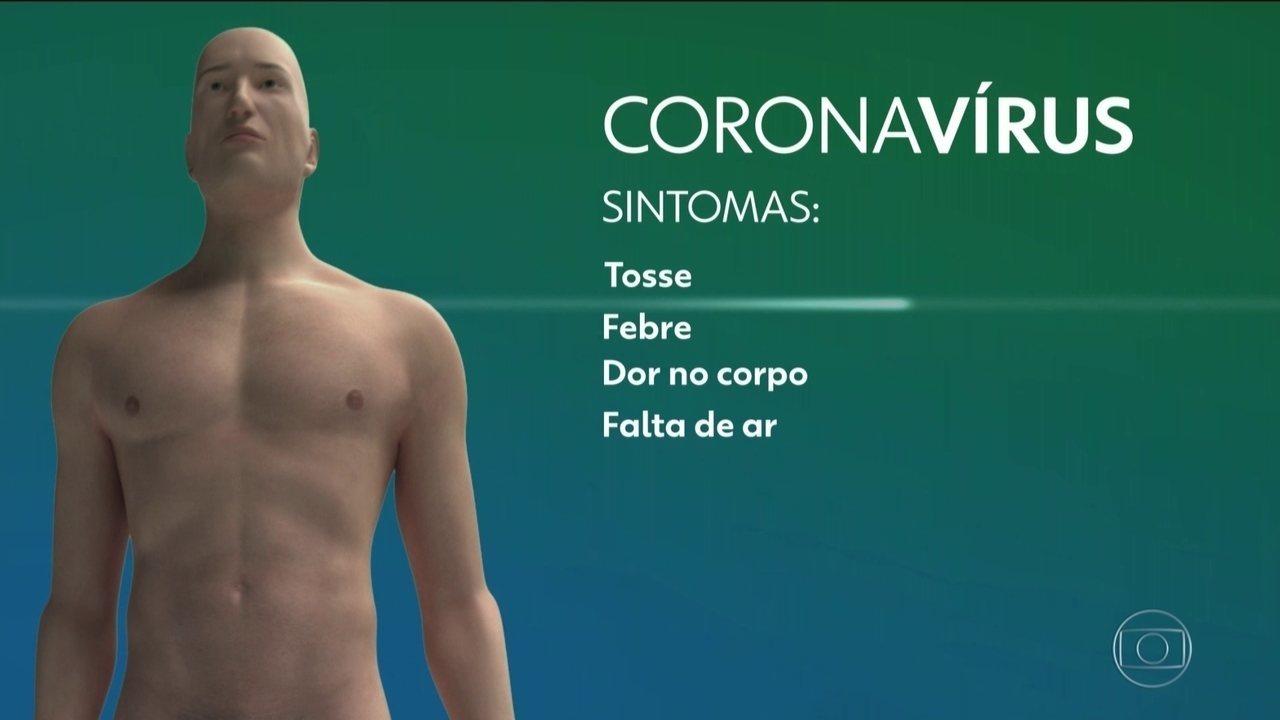 Especialistas explicam as características do novo coronavírus