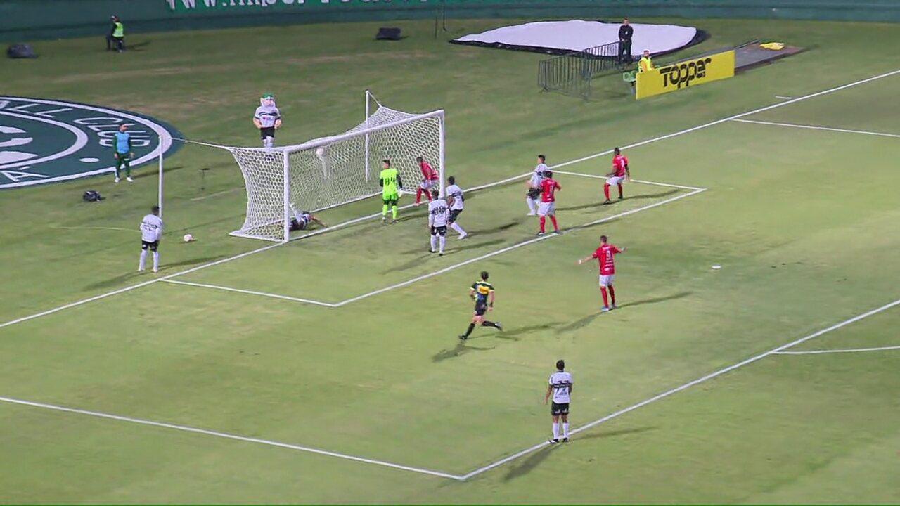 Veja os gols de Coritiba 1x1 Rio Branco-PR, pela segunda rodada do Paranaense