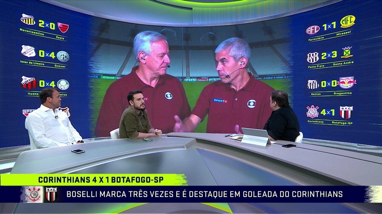 Comentaristas veem com bons olhos início do Corinthians