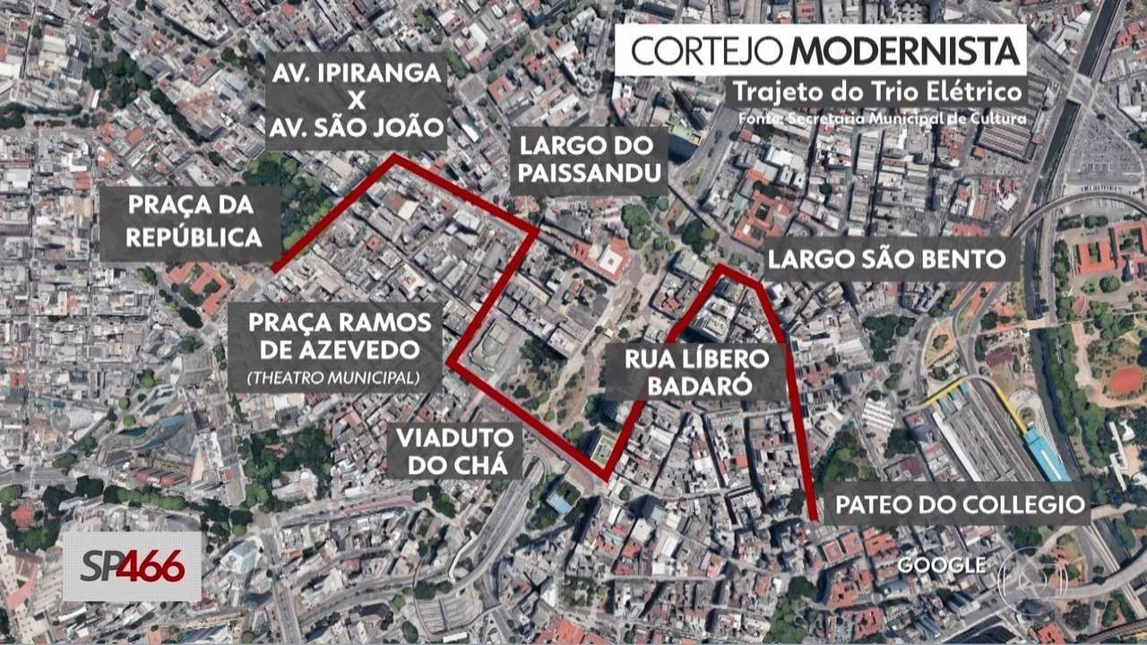 São Paulo faz 466 anos neste sábado (25) com atrações em vários pontos da cidade