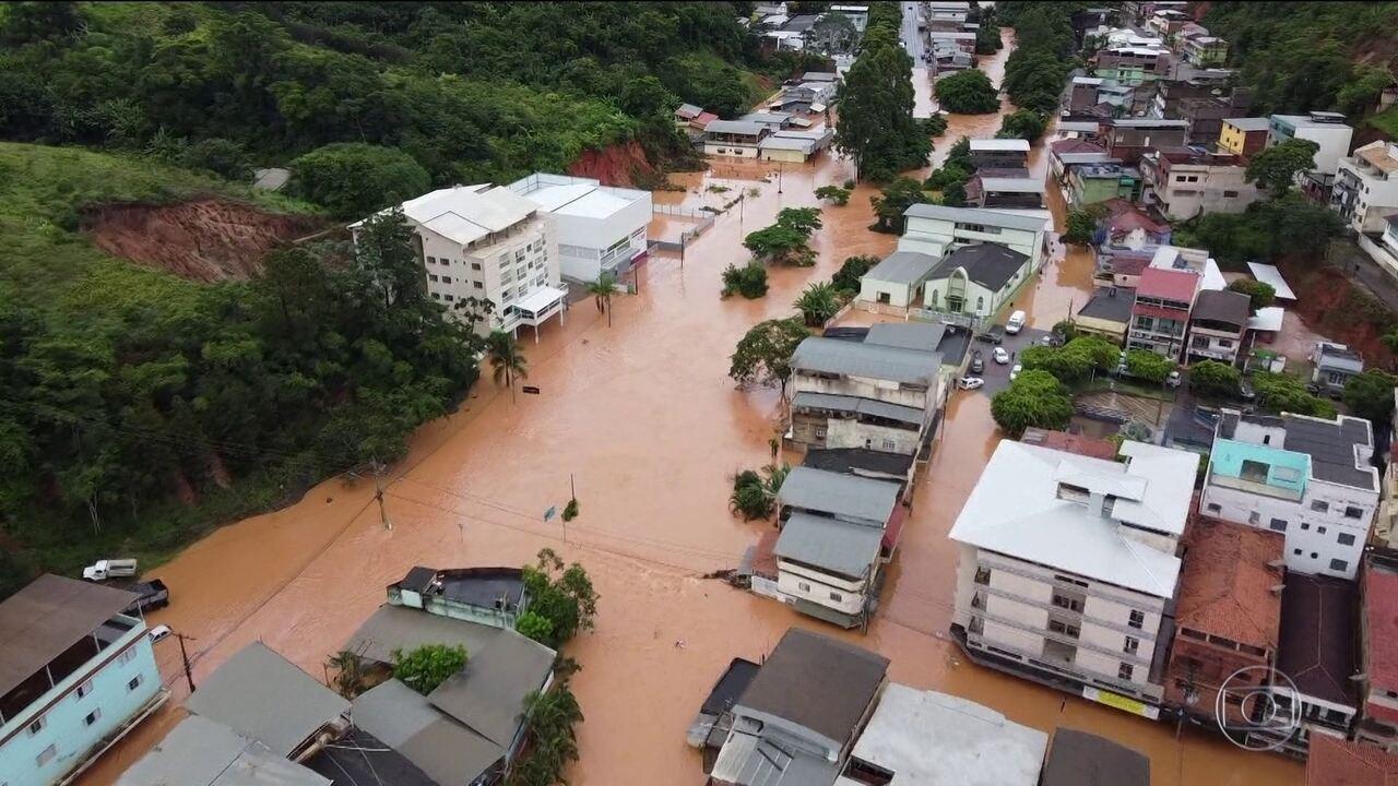 No Espírito Santo, quase 5 mil pessoas estão fora de casa por causa das chuvas