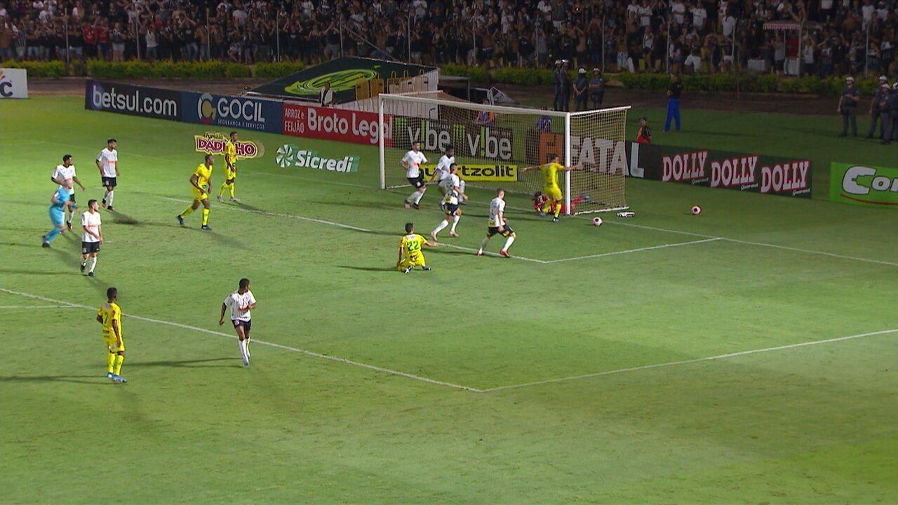Melhores momentos: Mirassol 1 x 1 Corinthians pela 2ª rodada do Campeonato Paulista