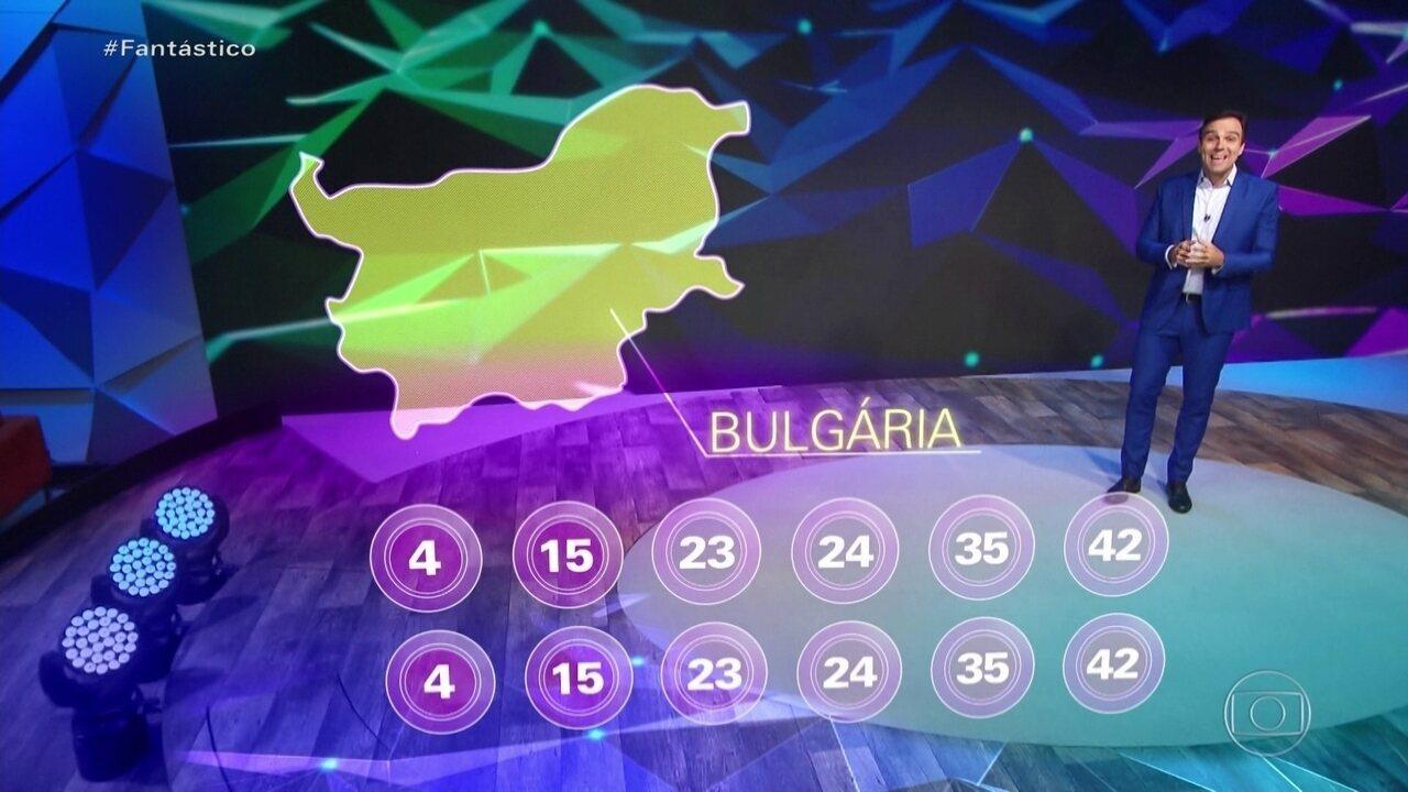 'É Muita Coincidência': loteria da Bulgária sorteia os mesmos números duas vezes seguidas