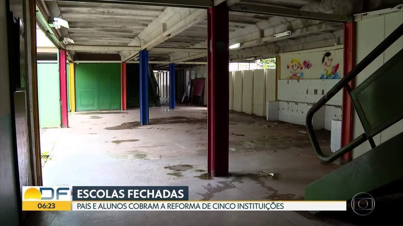 Ministério Público pede a reforma de 75 escolas