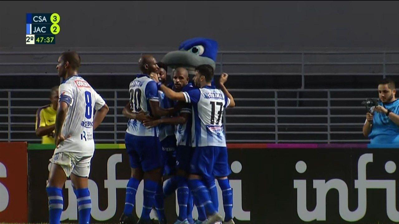 Assista aos gols de CSA 3 x 2 Jaciobá, pela segunda rodada do Campeonato Alagoano
