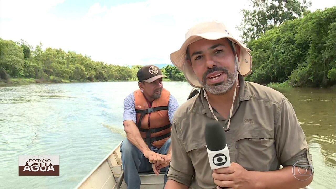 Expedição Água percorre trecho do Rio Paraíba do Sul