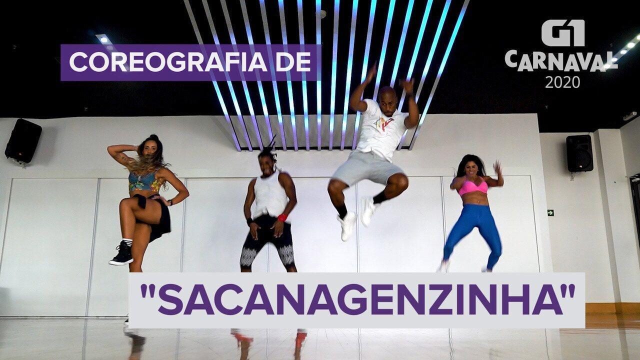 """Aprenda antes do carnaval a dançar a coreografia de """"Sacanagenzinha"""""""