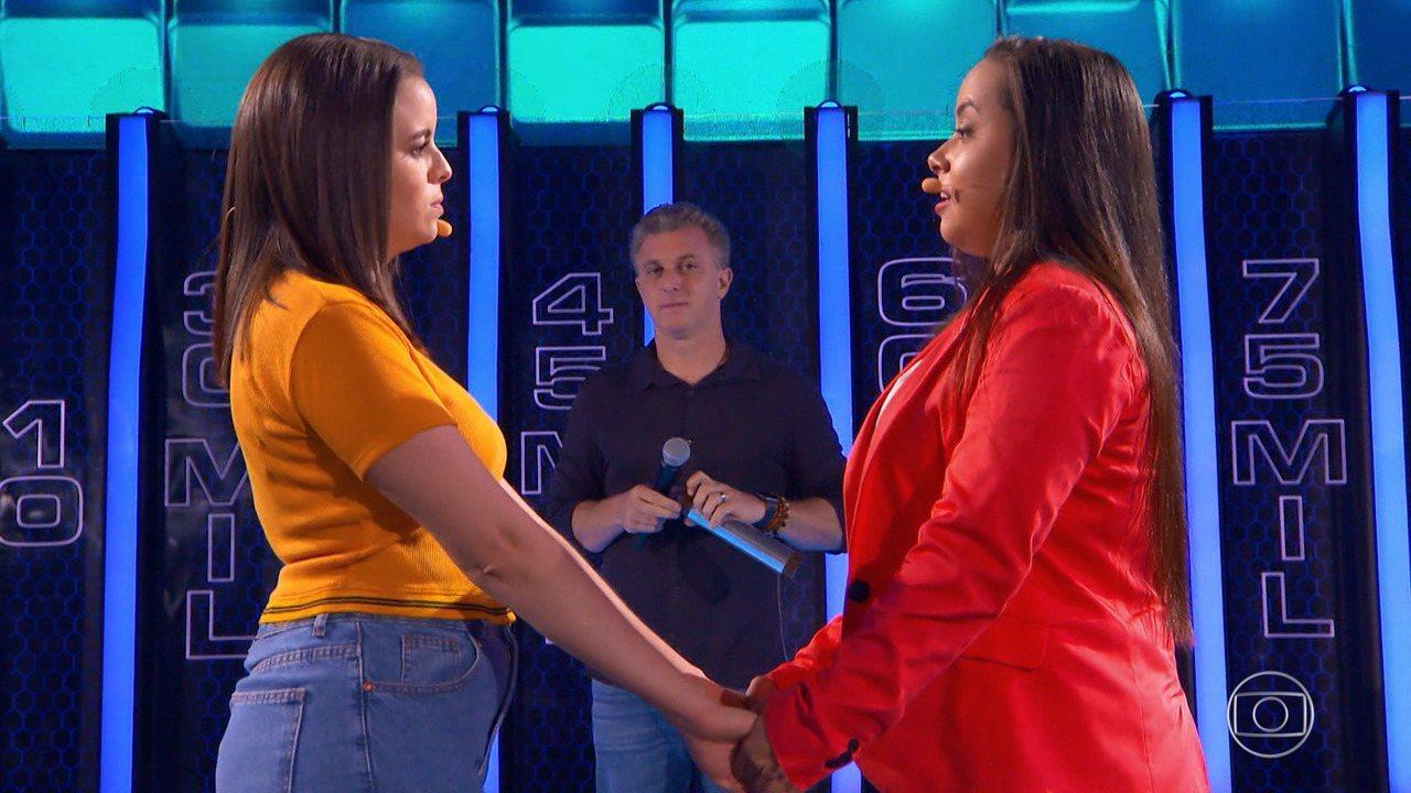 Saiba se Jessica e Elaine levaram o prêmio do 'The Wall'