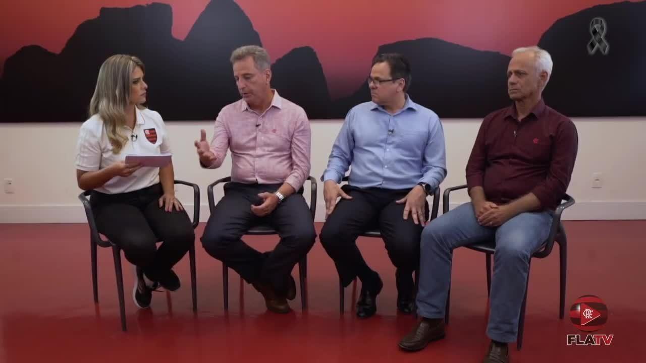 Dirigentes do Flamengo falam sobre a tragédia no Ninho do Urubu