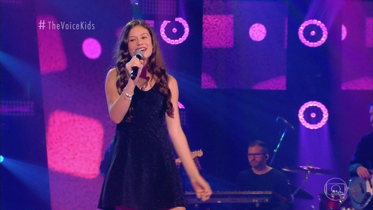 """Lívia Moschen canta """"Como Eu Quero"""" nas Audições às Cegas"""