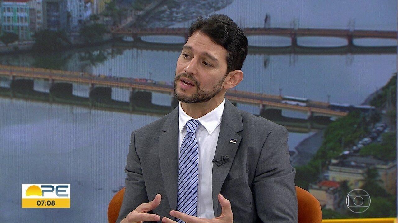 Secretário de Defesa Social fala sobre investimentos em segurança no estado