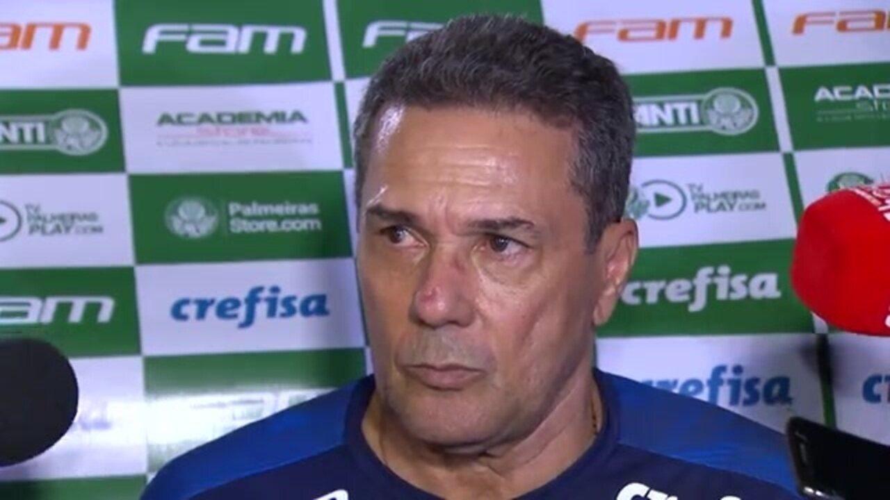Veja como foi a entrevista de Luxemburgo após vitória do Palmeiras sobre a Ponte Preta