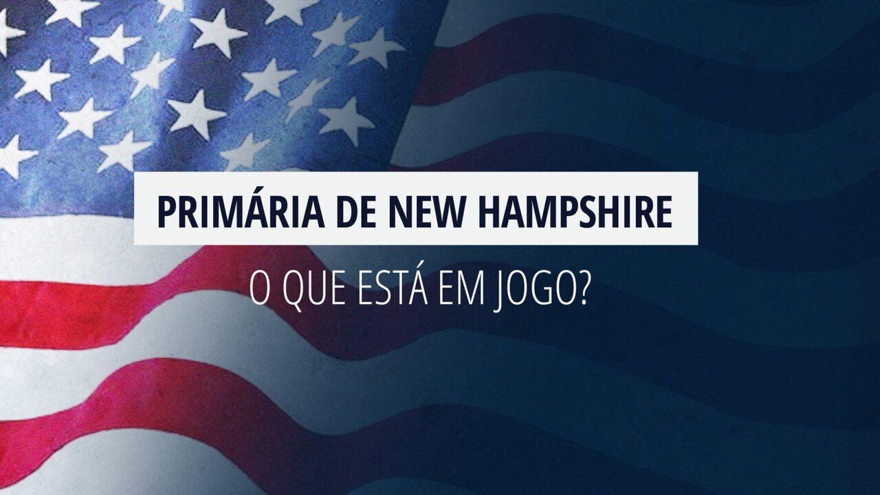 Eleições americanas: O que está em jogo em New Hampshire