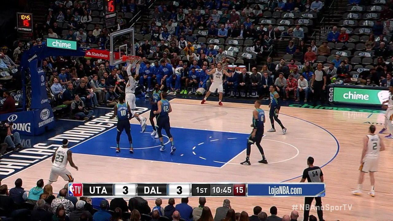 Melhores momentos de Dallas Mavericks 119 x 123 Utah Jazz pela NBA