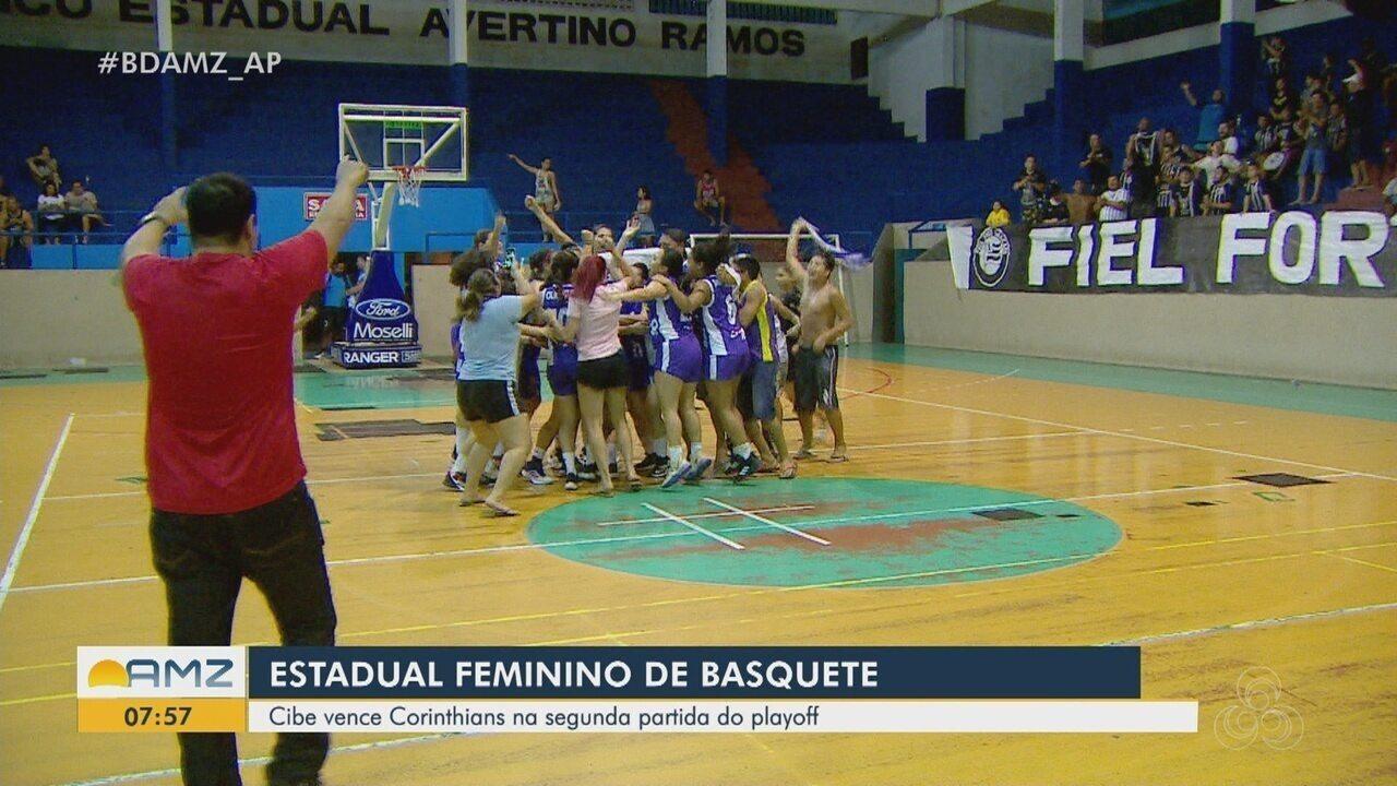 Cibe vence o Corinthians e conquista o estadual feminino de basquete do Amapá