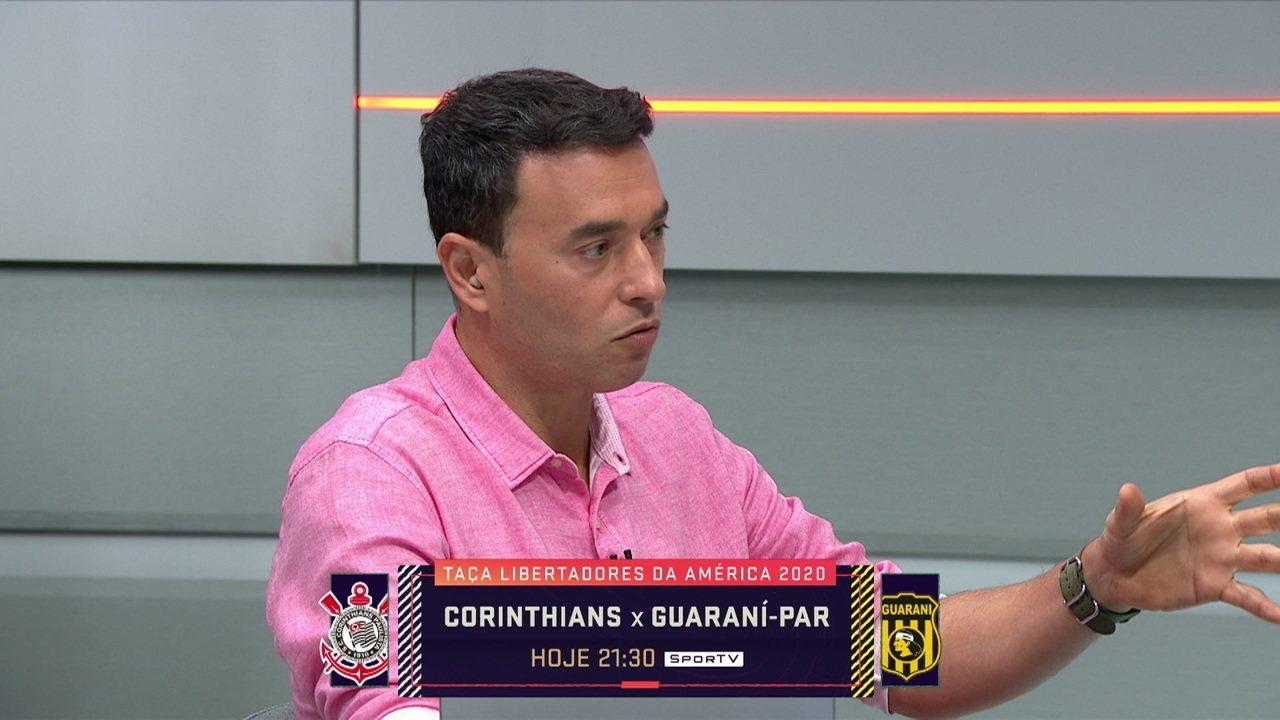 Rizek diz que é impossível o Corinthians pensar em título Brasileiro com o elenco atual