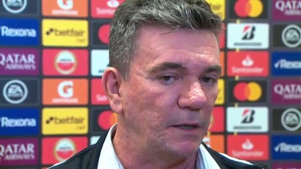 """Andrés Sanchez analisa eliminação do Corinthians e diz que """"planejamento segue"""""""