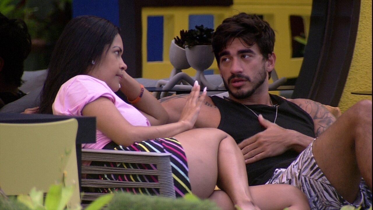 Guilherme revela sobre Gabi: 'Penso em pedir ela em namoro'