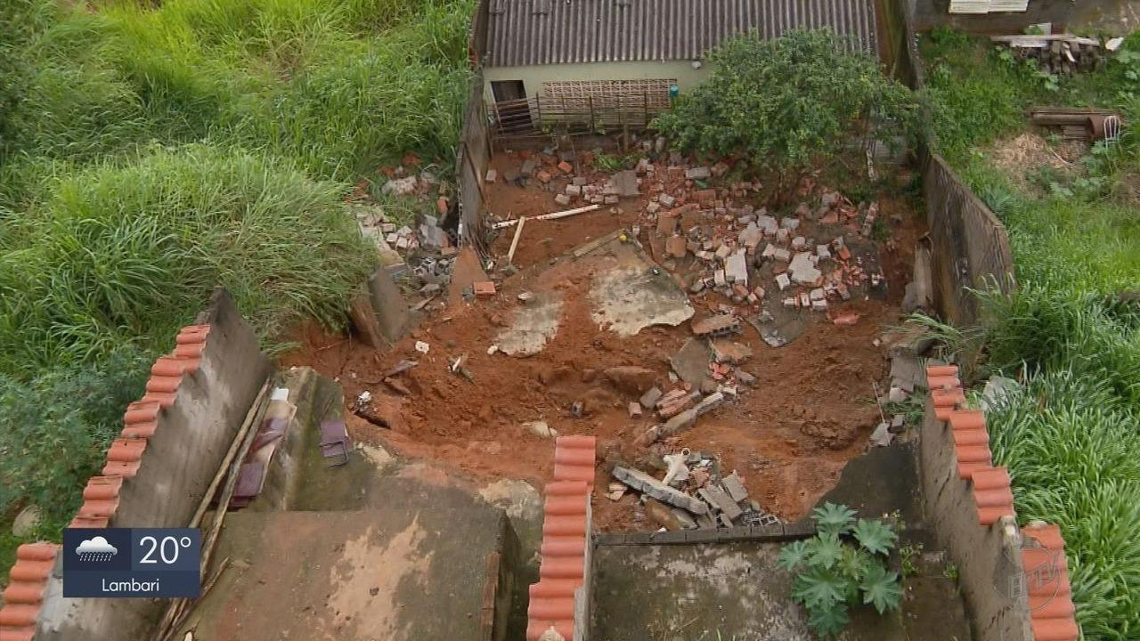 Chuva de 55 milímetros em menos de 2 horas tirou 29 pessoas de casa em Varginha