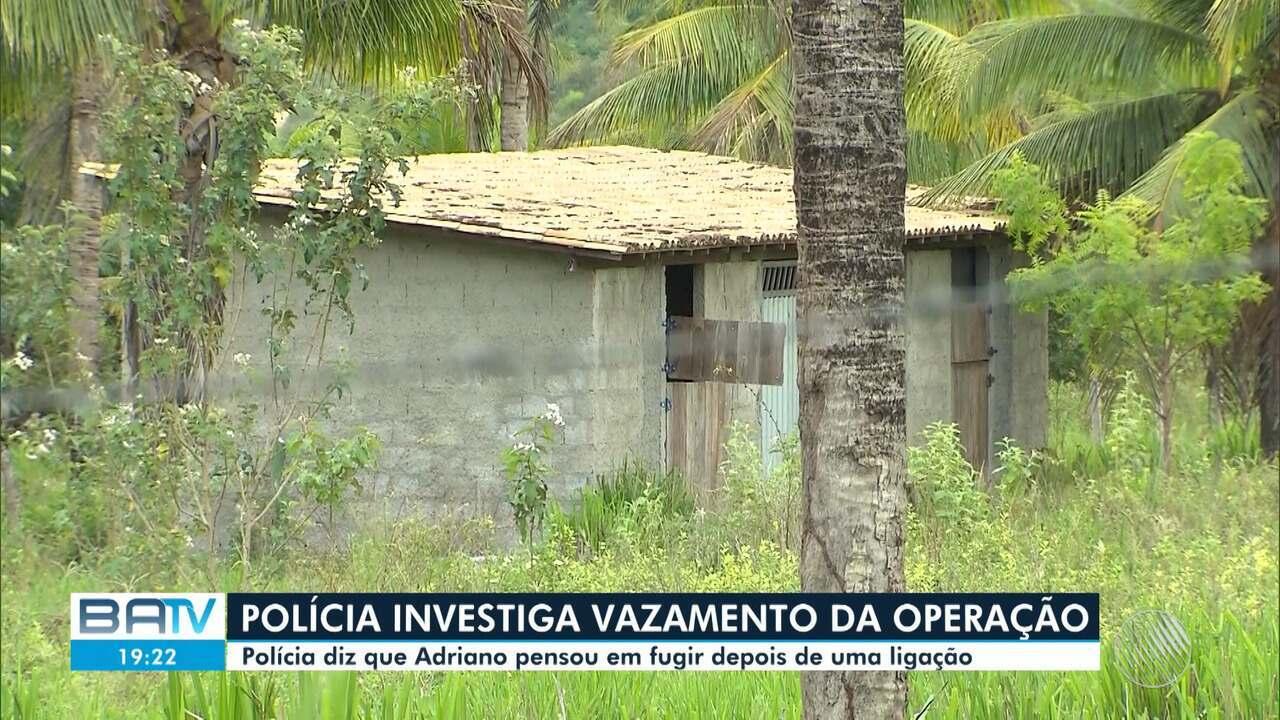 Polícia investiga se miliciano morto na BA sabia de operação e planejava fugir para o RJ
