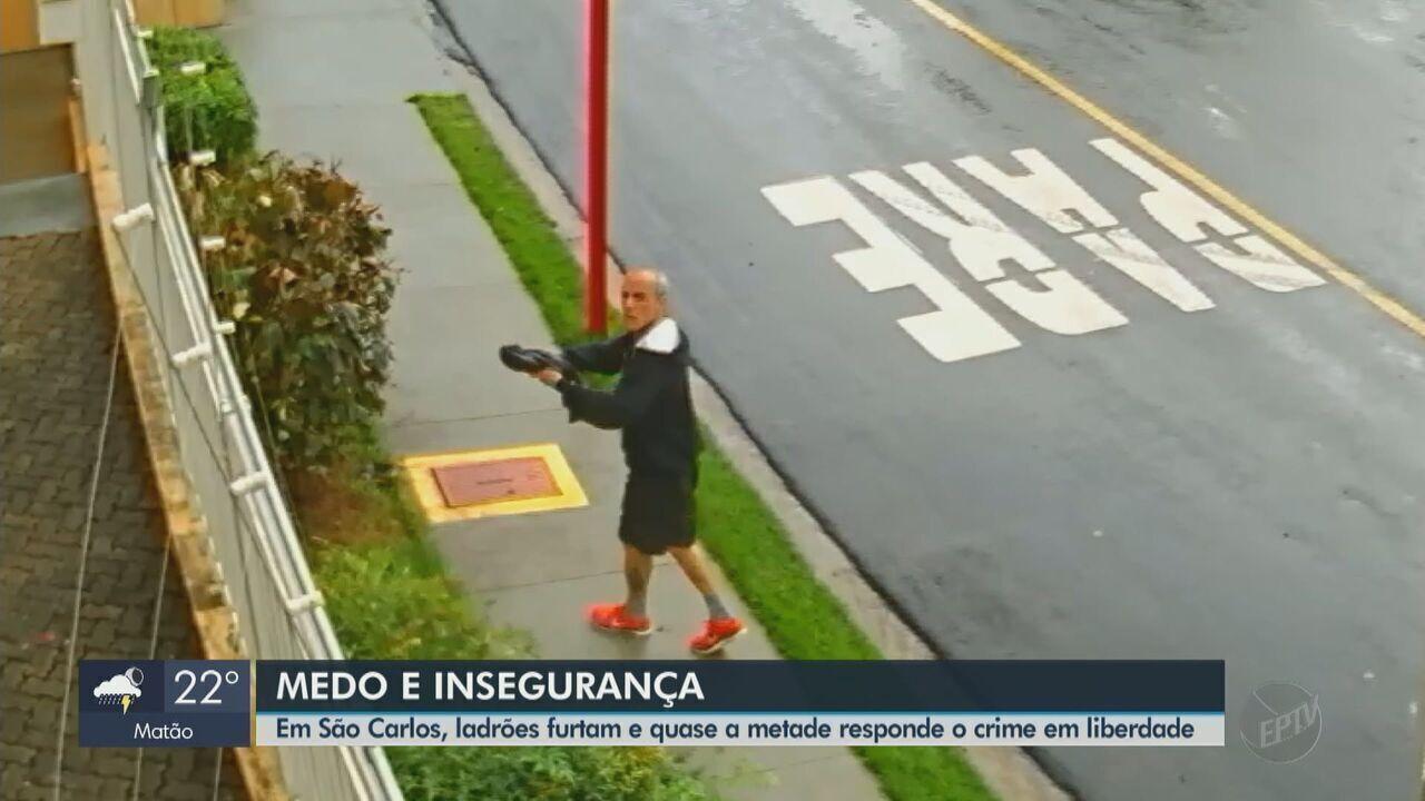 São Carlos já registrou 278 furtos desde o início do ano, aponta levantamento