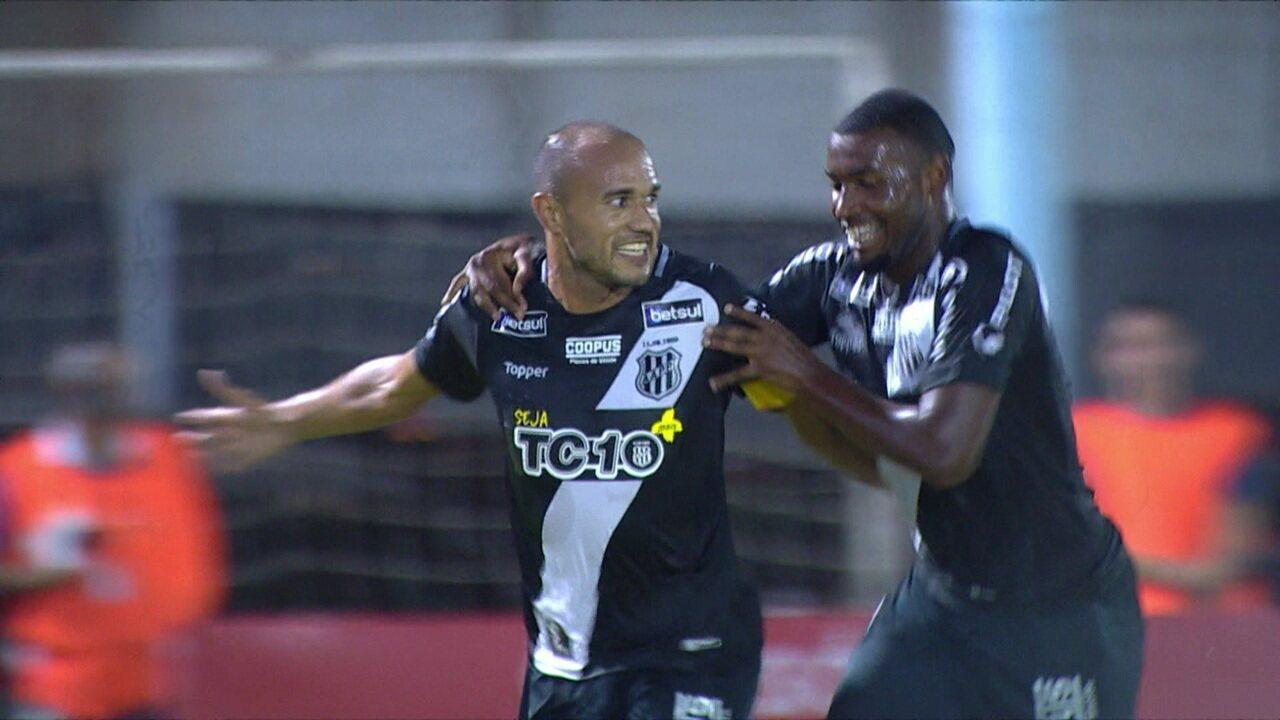 Os gols de Novo Hamburgo 1 x 2 Ponte Preta pela 1ª fase da Copa do Brasil