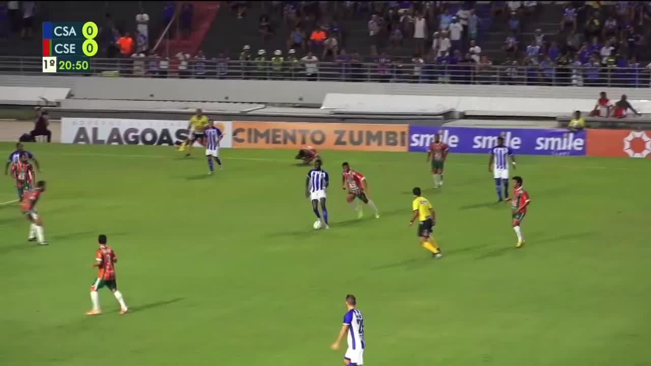 Confira os melhores momentos de CSA 1 x 1 CSE, pela terceira rodada do Alagoano