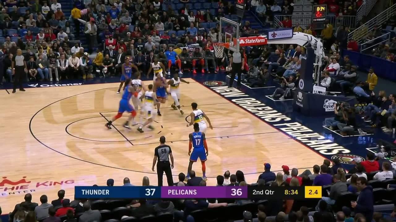 Veja o top 5 de jogadas da noite desta quinta-feira pela NBA