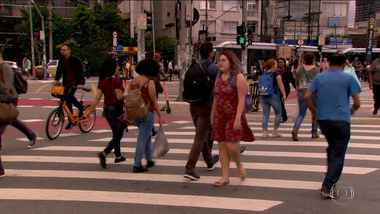 Pesquisa mostra que moradores de São Paulo estão dispostos a abandonar o carro