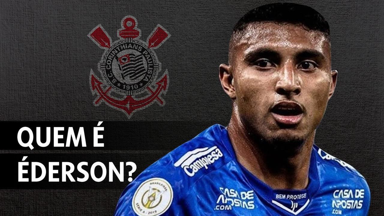 Conheça Éderson, próximo reforço do Corinthians para 2020