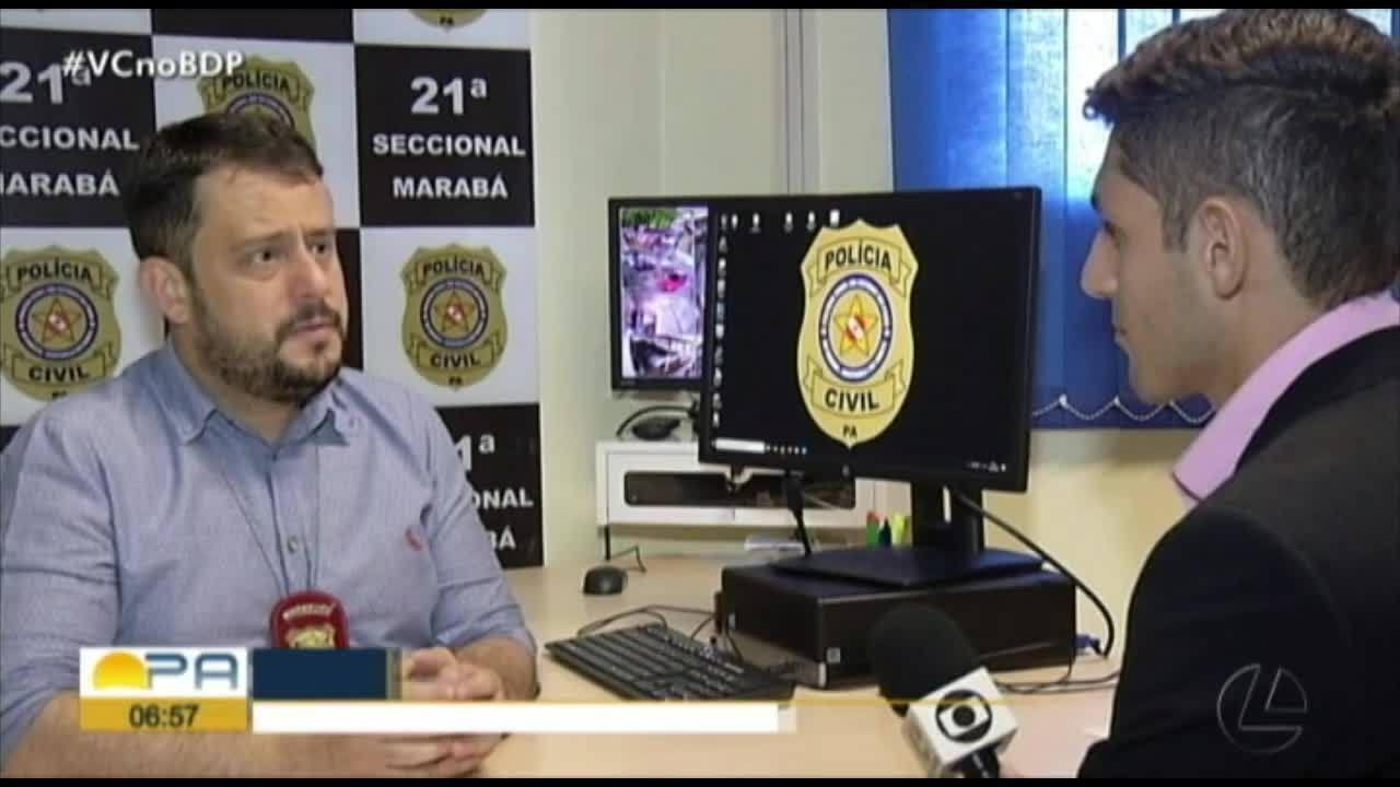 Polícia identifica mãe da menina que foi deixada em uma caixa de papelão, em Marabá