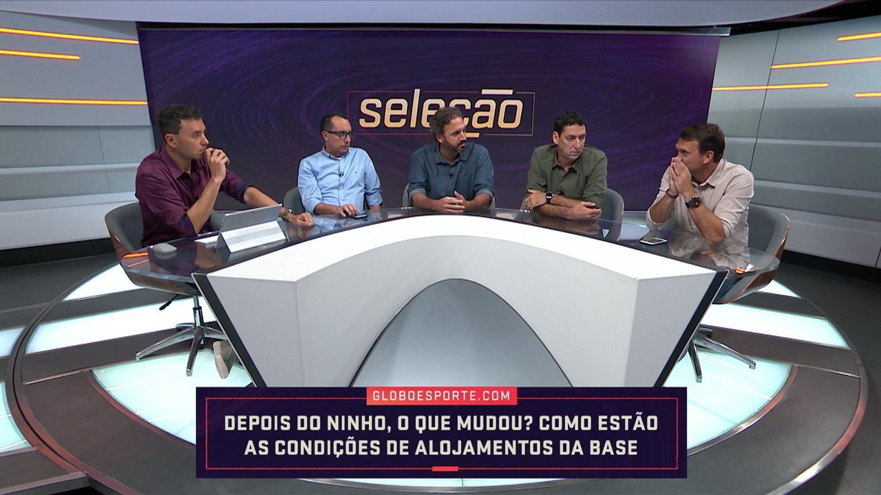Comentaristas debatem estrutura dos alojamentos da base por todo o Brasil