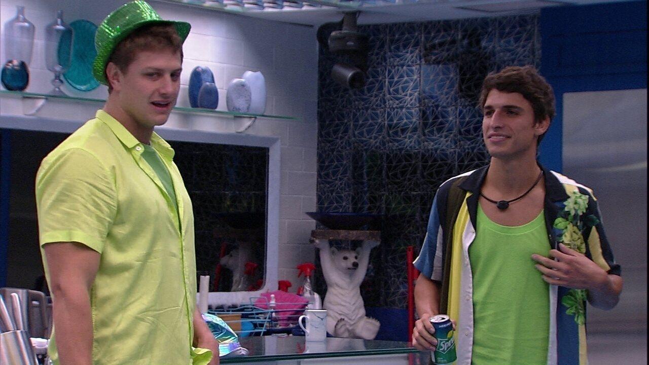 Lucas sobre o jogo: 'Se me quiserem aqui dentro, vamos incomodar