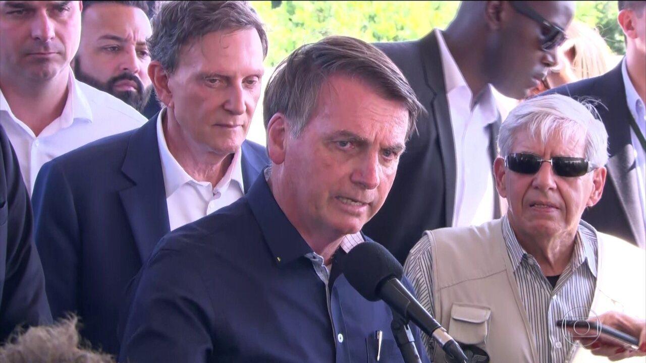 Bolsonaro diz que a Polícia Militar da Bahia matou o ex-PM Adriano da Nóbrega