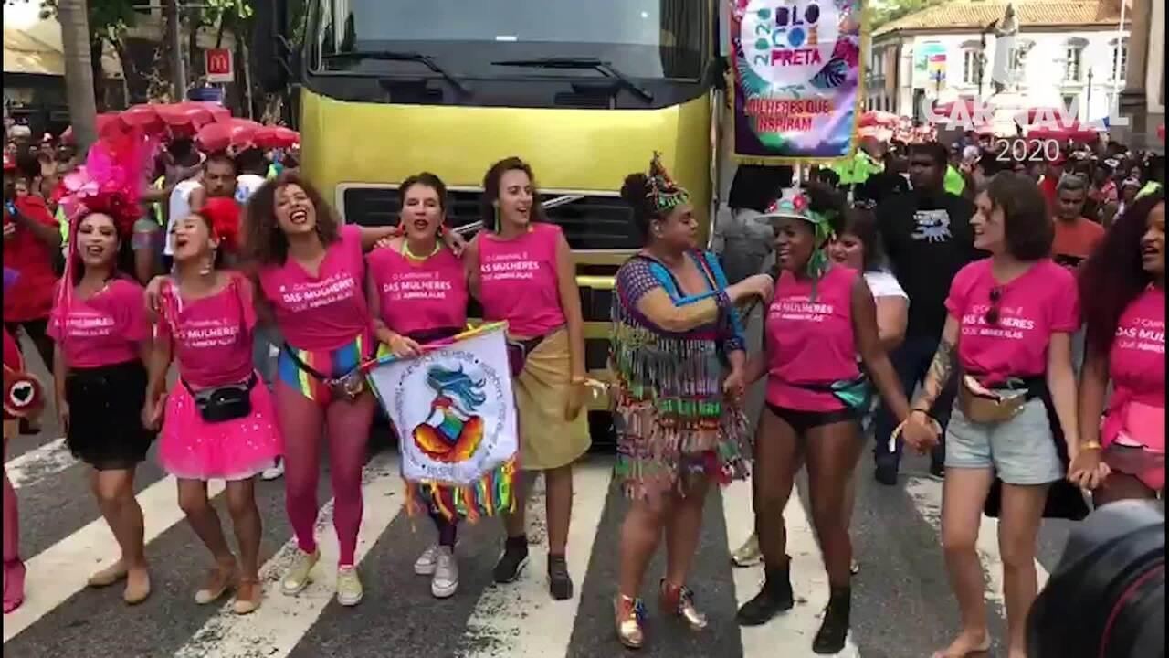 Preta Gil canta 'Abre Alas' com convidadas