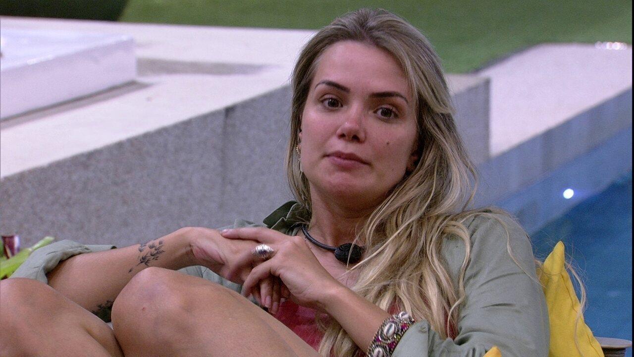 Marcela sobre Daniel: 'Ele não é bobo como vocês pensam, não'