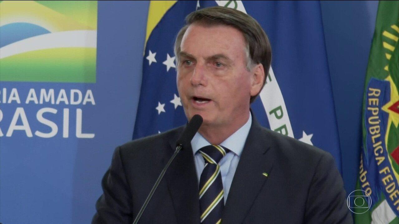O presidente Jair Bolsonaro participou da reunião de posse do novo ministro da Casa Civil