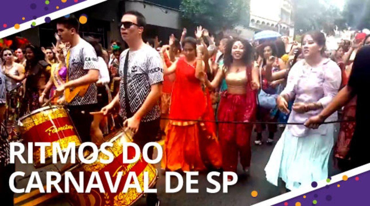 Conheça blocos que apostam em ritmos diferentes no carnaval de rua de SP