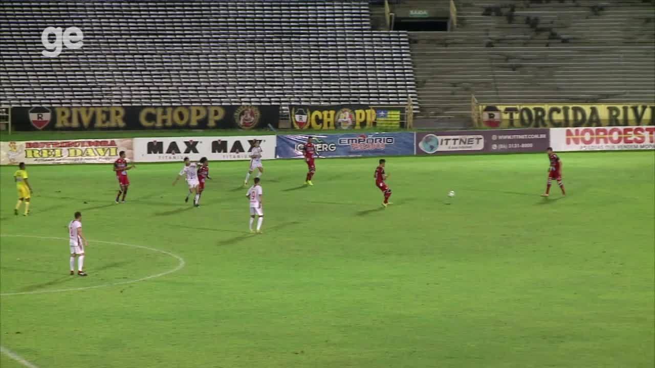 Confira os gols de River-PI 1 x 2 4 de Julho pela sexta rodada do Piauiense