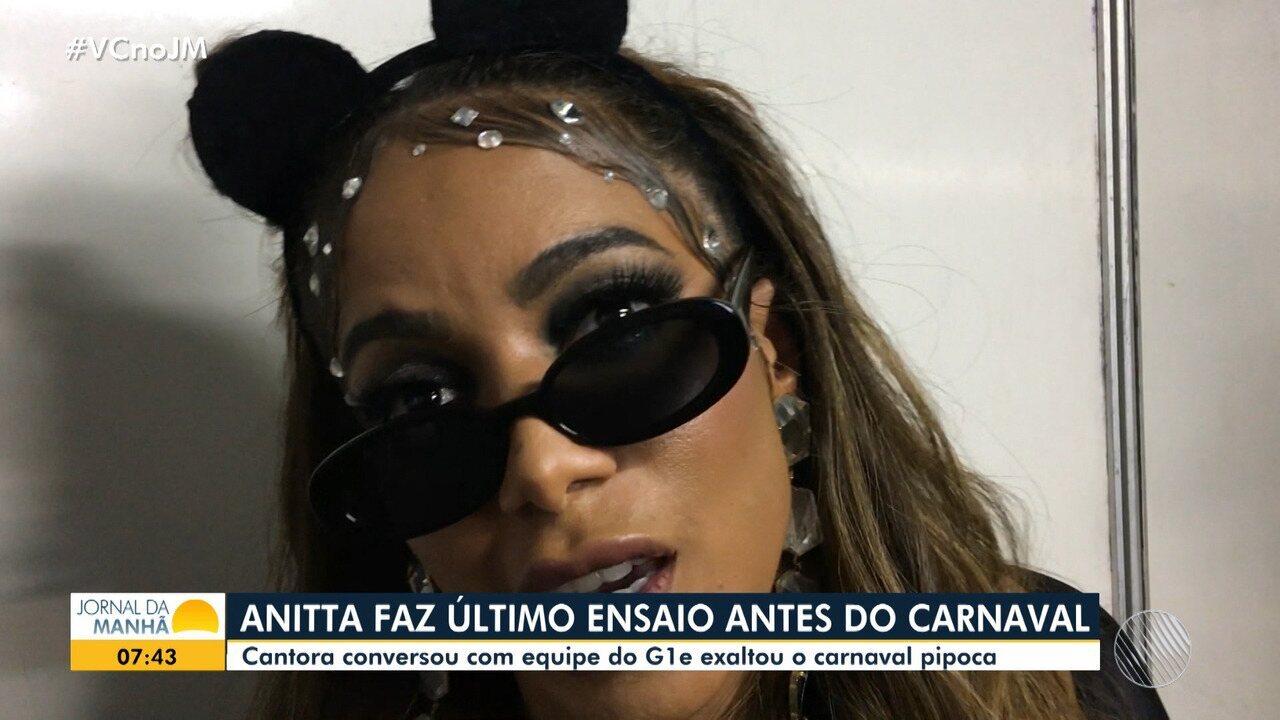 Saiba como foi a apresentação de Anitta no carnaval de Salvador