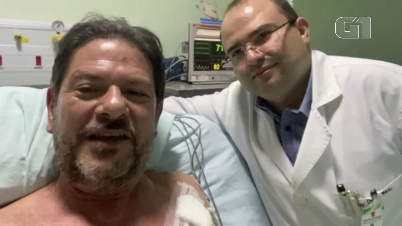 Cid Gomes grava vídeo agradecendo hospital de Sobral após saída da UTI