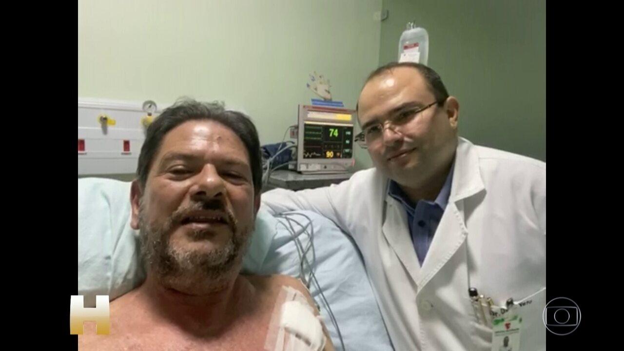 Cid Gomes deixa UTI de hospital e é transferido para Fortaleza após ser baleado