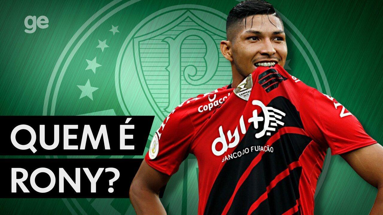 Quem é Rony: GloboEsporte.com apresenta provável reforço do Palmeiras