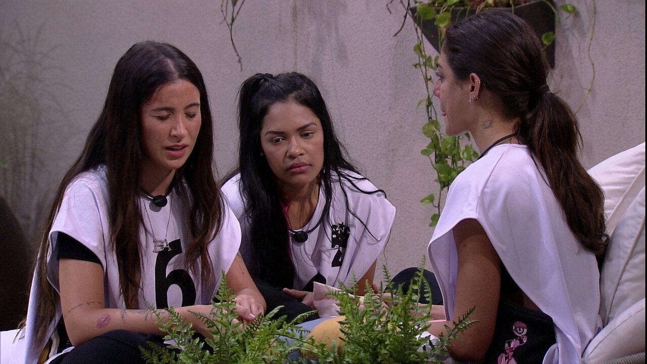 Bianca comenta sobre Rafa: 'Articulada e manipuladora'